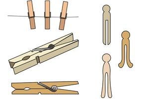Picture frame clipart on a clothes pin vector royalty free stock Clothespin Free Vector Art - (49,455 Free Downloads) vector royalty free stock