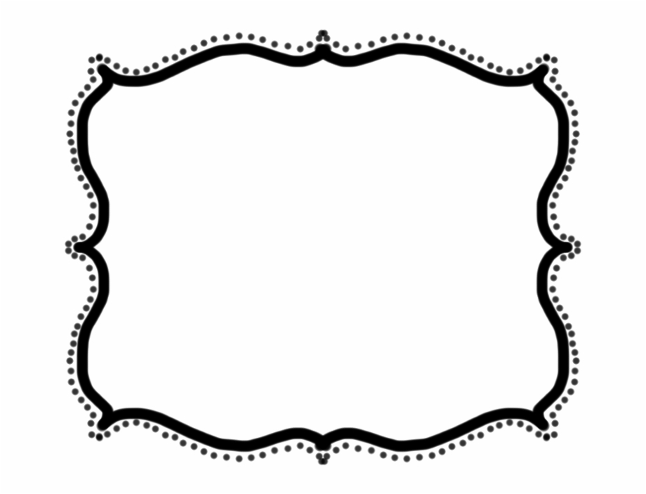 Picture frames clipart download svg library download Black Scroll Frame Clip Art - Frame Clipart Free PNG Images ... svg library download