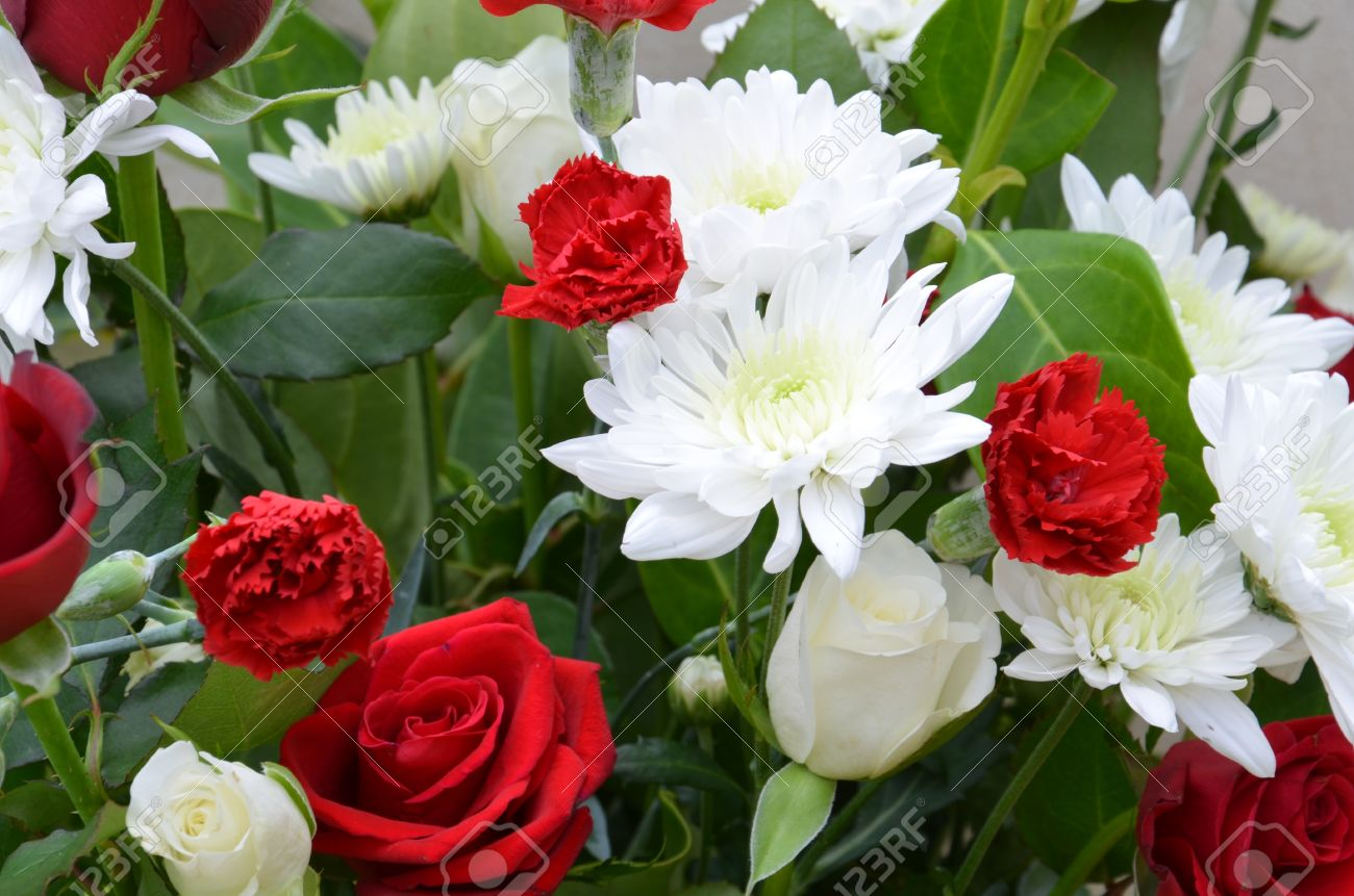Picture of a big bunch of flowers image royalty free library A Big Bunch Of Mixed Flowers Stock Photo, Picture And Royalty Free ... image royalty free library