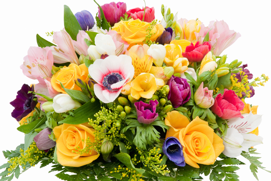 Picture of a big bunch of flowers banner library Gratitude Sunday: In the Name of The Mother | Sassy Kas banner library