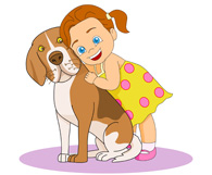 Picture of a boy hugging a dog clipart clip art freeuse Free Pat Dog Cliparts, Download Free Clip Art, Free Clip Art ... clip art freeuse