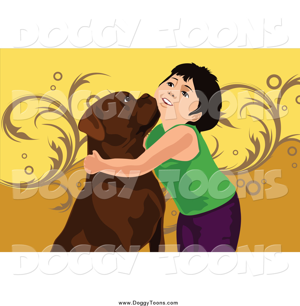 Picture of a boy hugging a dog clipart picture download Doggy Clipart of a Boy Hugging His Dog by mayawizard101 - #2020 picture download