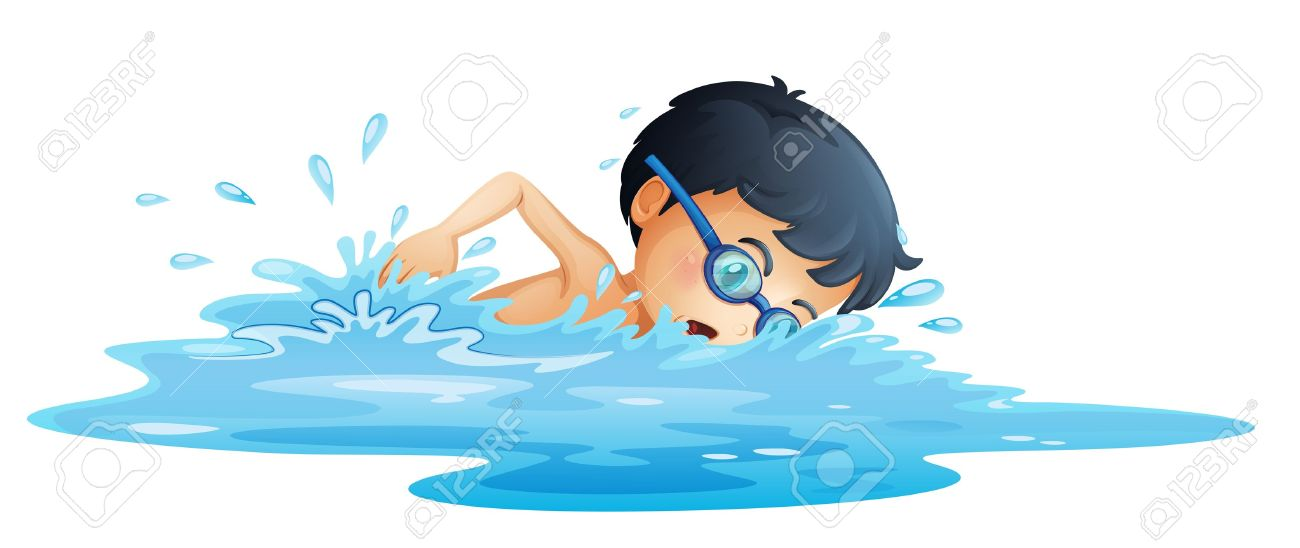 Picture of a boy swimming clipart svg royalty free library Swim clipart little boy svg royalty free library