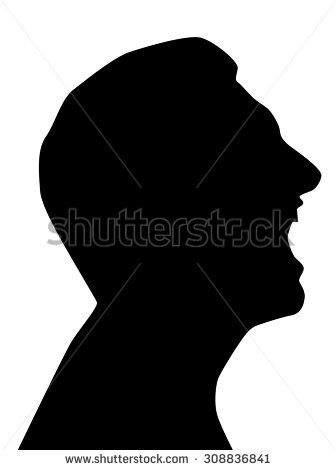 Picture of a face with mouth open clipart svg library library Image result for mouth open profile clipart black and white ... svg library library