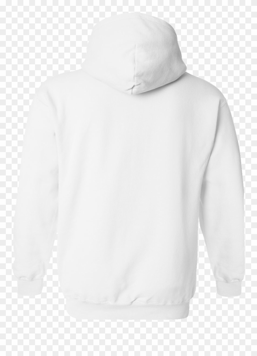 Picture of a hoodie from the back clipart clip freeuse library Gildan Heavy Blend Adult Hooded - White Hoodie Back Png ... clip freeuse library