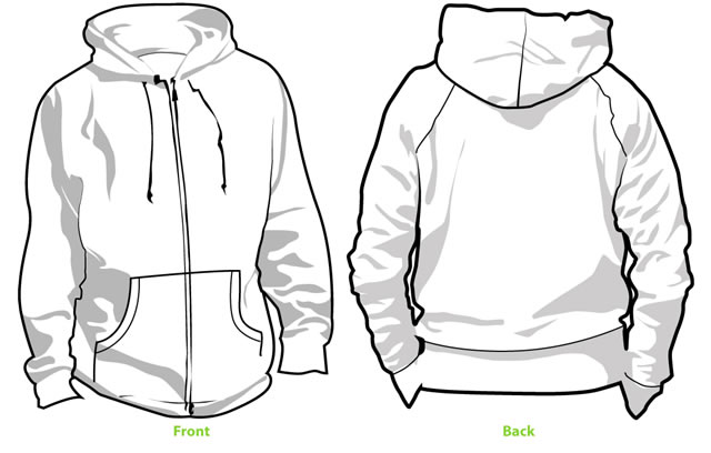 Picture of a hoodie from the back clipart clip transparent stock Grey Hoodie Back Clipart - 408*640 - Free Clipart Download ... clip transparent stock