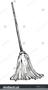 Picture of a mop clipart black and white svg transparent library Mop Clipart Black And White | Free Images at Clker.com ... svg transparent library