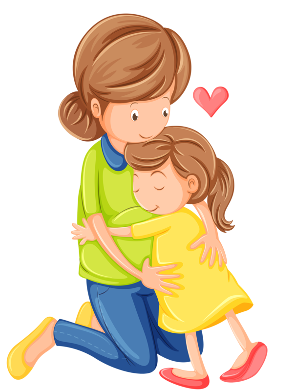 Mom and dad kisses clipart image transparent Photo from album \