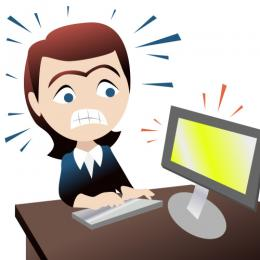 Picture of a people stressed at a desk clipart picture freeuse download Funny Stressed Out Pictures | Free download best Funny ... picture freeuse download