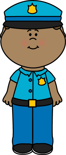 Picture of a school police officer clipart picture freeuse library Boy Police Officer | Community Theme Workers and Leaders ... picture freeuse library