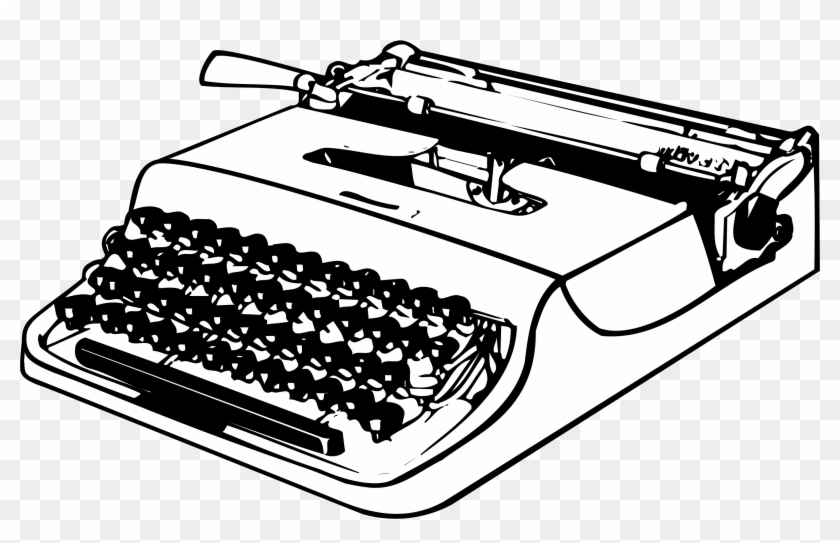 Picture of a typewriter clipart svg stock Png Images Free Download Transparent Background - Typewriter ... svg stock
