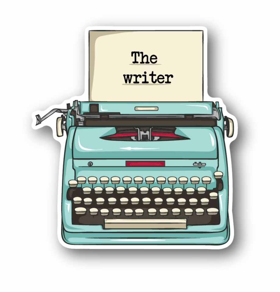 Picture of a typewriter clipart transparent Typewriter Clipart Cute - Typewriter Sticker, Transparent ... transparent