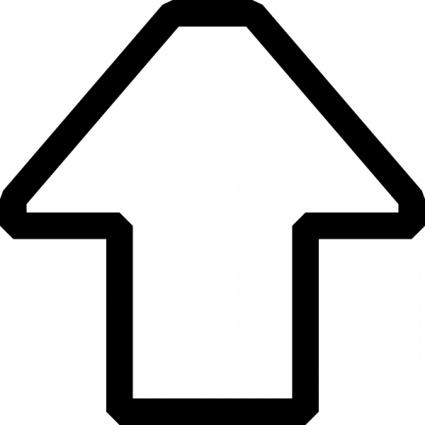 Picture of a up arrow clipart clip Up arrow clip art - ClipartFest clip