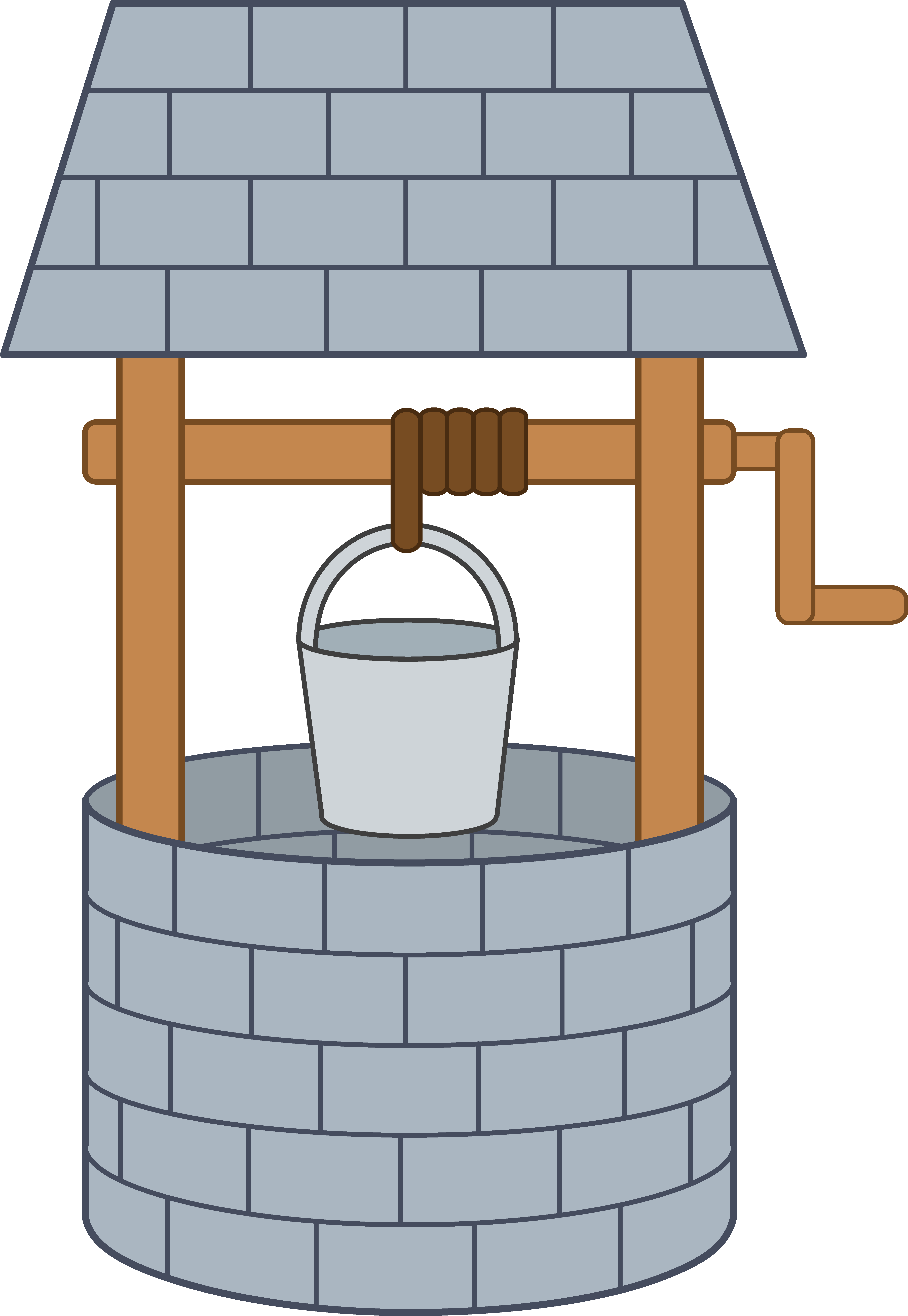 Wishing clipart royalty free download Cute Wishing Well - Free Clip Art royalty free download