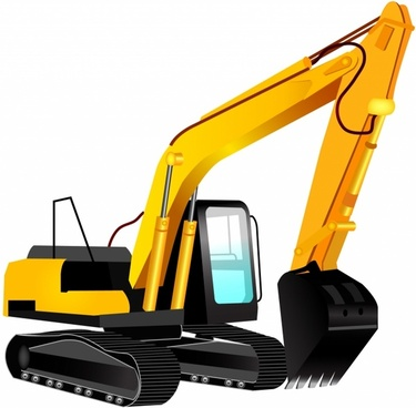 Picture of a yellow bulldozer free outlines clipart clip free download Excavator vector free vector download (25 Free vector) for ... clip free download