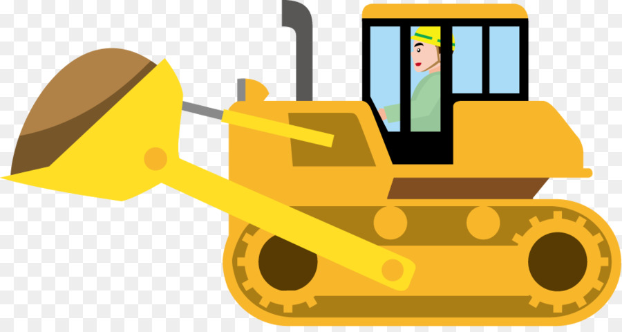 Picture of a yellow bulldozer free outlines clipart graphic Free Bulldozer Silhouette Clip Art, Download Free Clip Art ... graphic