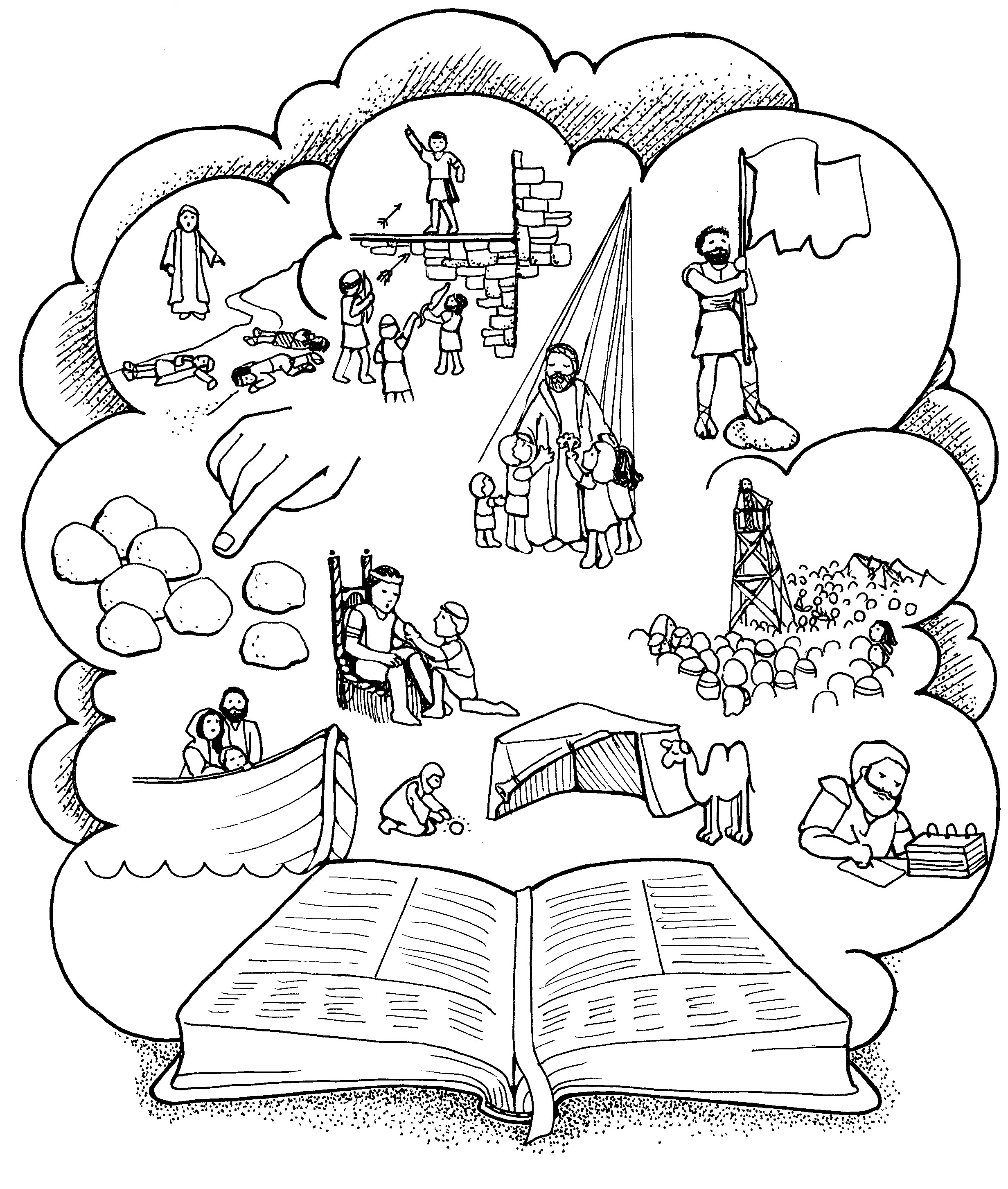 Picture of ammon lds black and white clipart clipart freeuse download Book of mormon golden plates coloring page clipart freeuse download