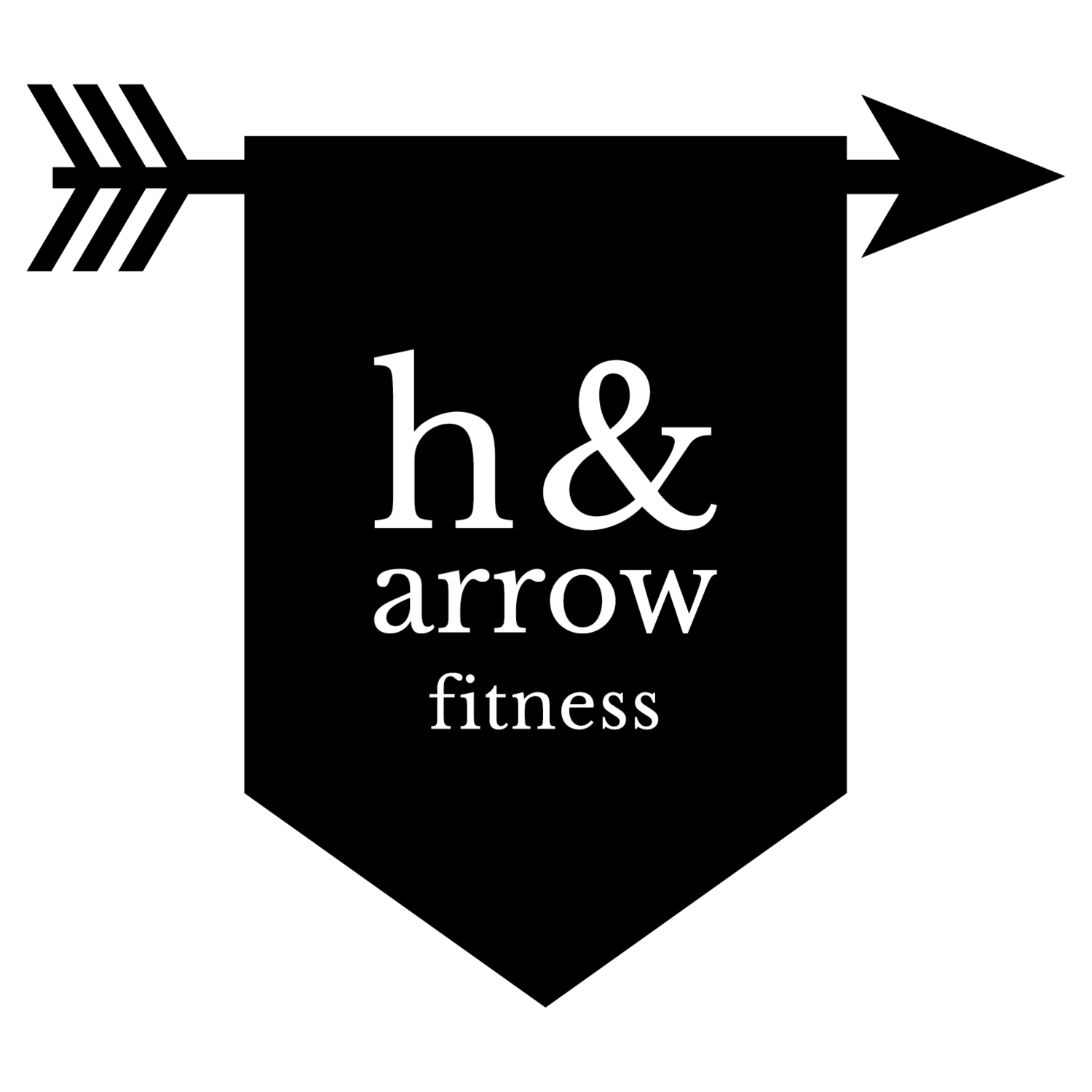 Picture of an arrow banner freeuse download NC Fitness Classes and Personal Fitness Support - H & Arrow Fitness banner freeuse download
