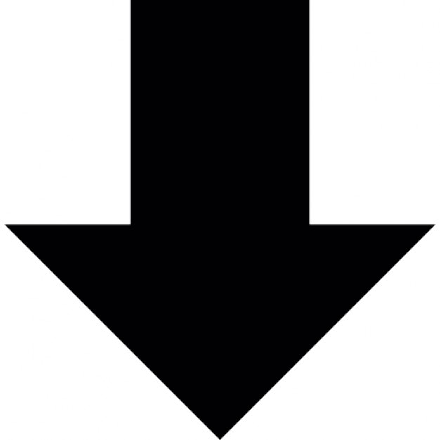 Picture of arrow pointing down vector black and white download Picture of arrow pointing down - ClipartFest vector black and white download