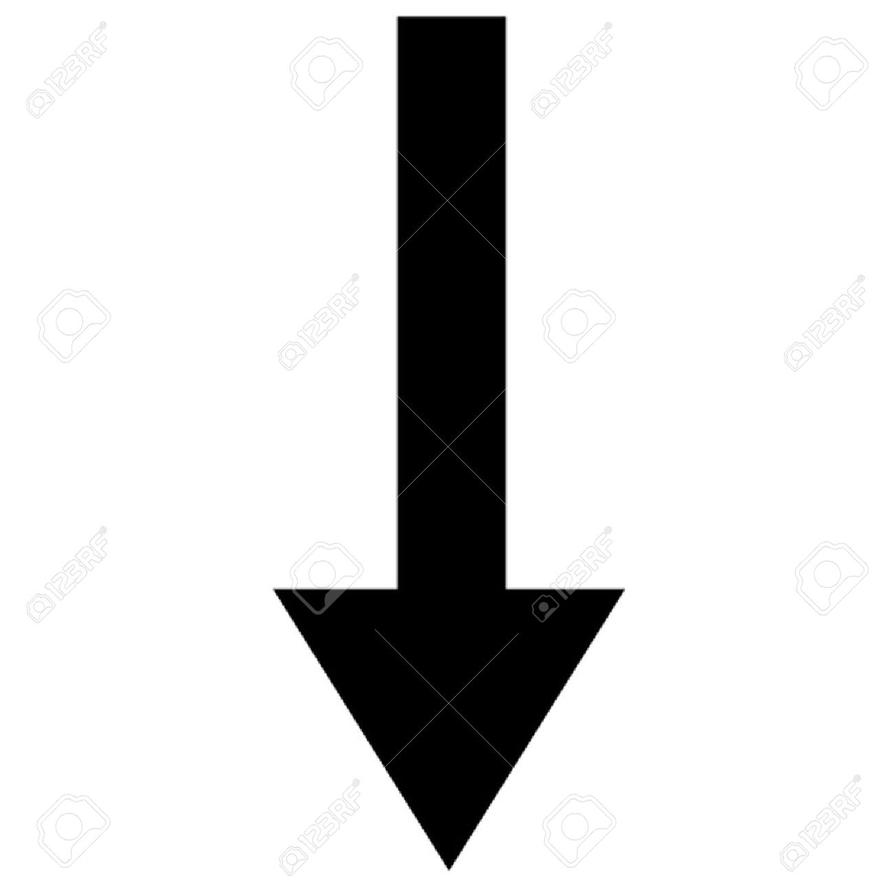 Picture of arrow pointing down banner free download Arrow Pointing Down Royalty Free Cliparts, Vectors, And Stock ... banner free download