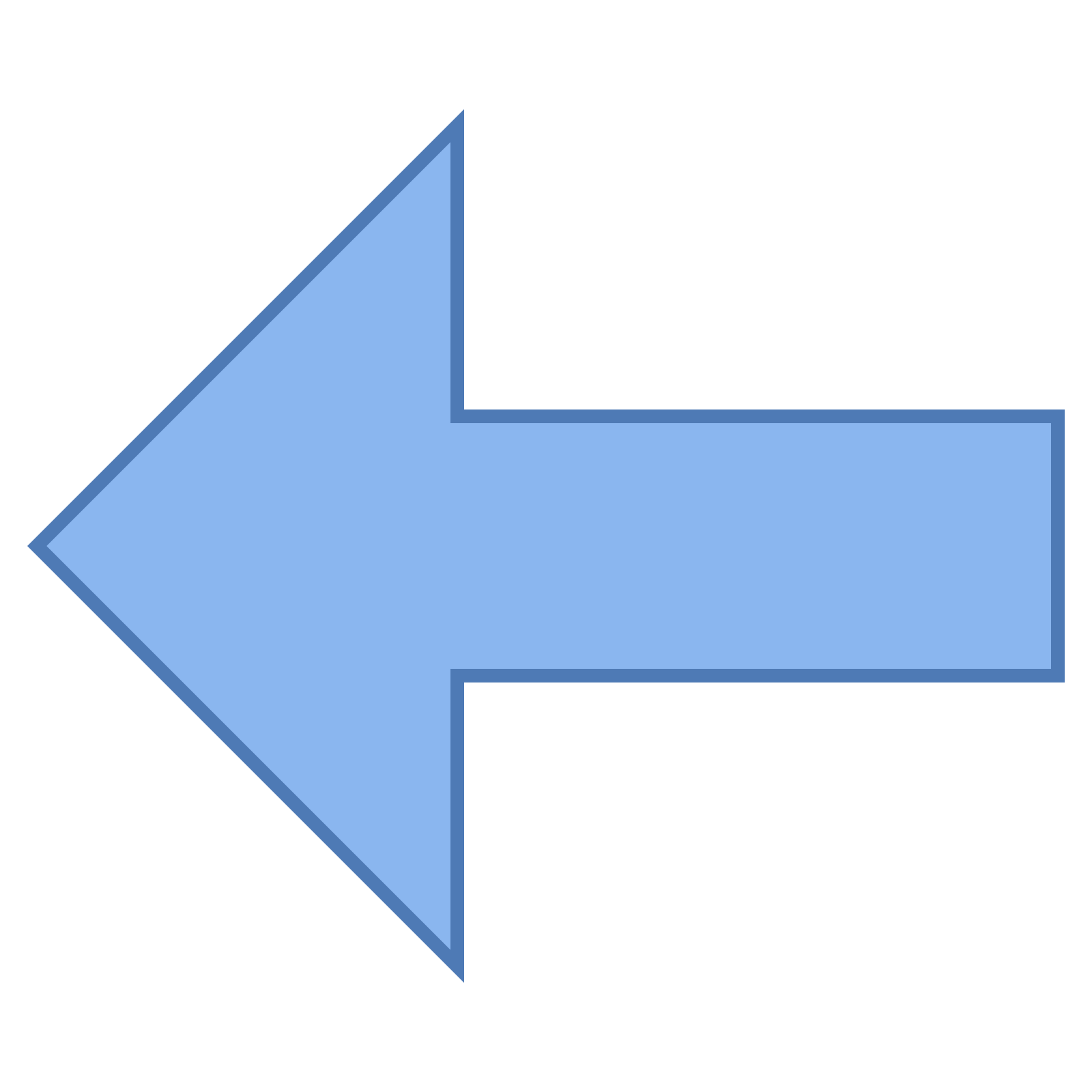 Picture of arrow pointing left banner transparent Arrow Pointing Left Icon - free download, PNG and vector banner transparent