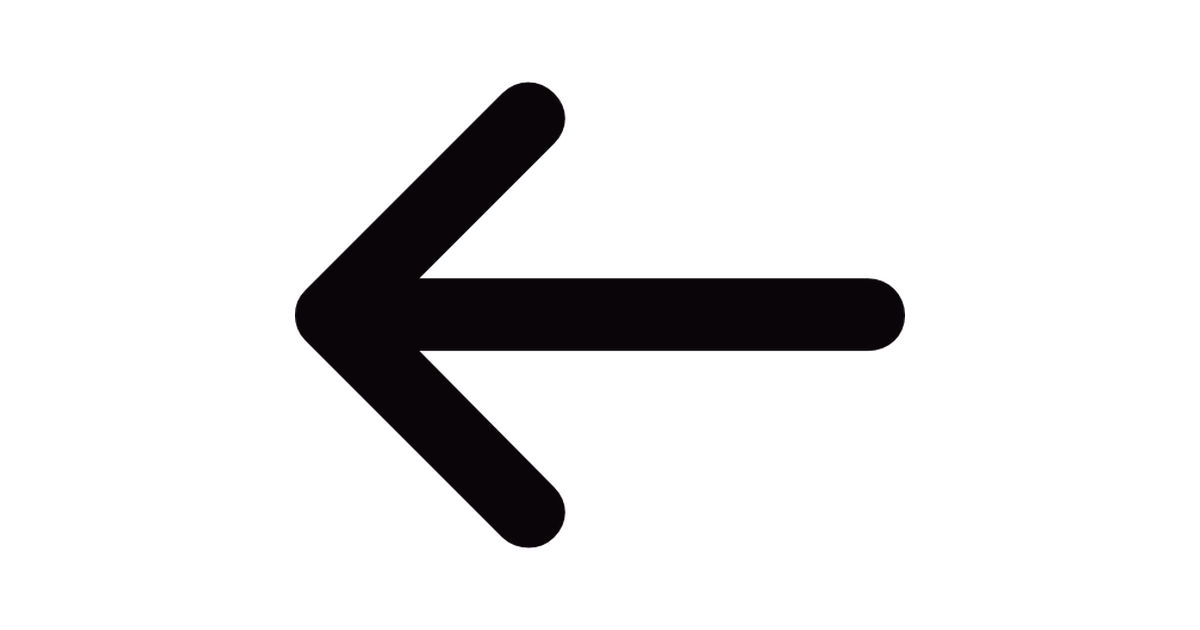 Picture of arrow pointing left jpg library download Thin arrow pointing left - Free arrows icons jpg library download