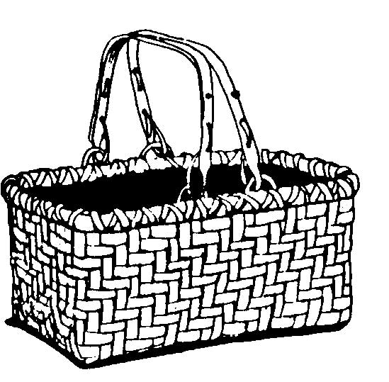 Picture of basket black and white clipart vector freeuse library And black laundry white basket clipart kid - ClipartBarn vector freeuse library