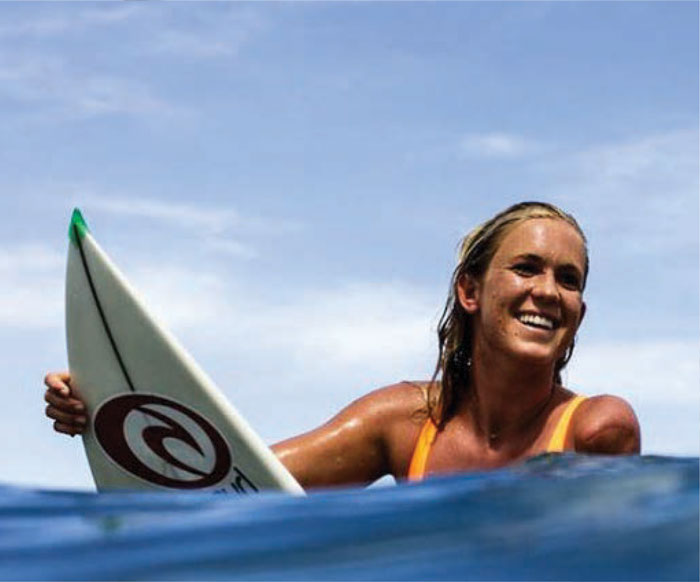 Picture of bethany hamilton surfing clipart black graphic royalty free download Bethany Hamilton | Cobian® Footwear Ambassadors graphic royalty free download