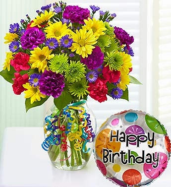 Picture of big bunch of flowers svg library stock It's Your Day Bouquet® Happy Birthday : Lawrence MA Florist : Same ... svg library stock