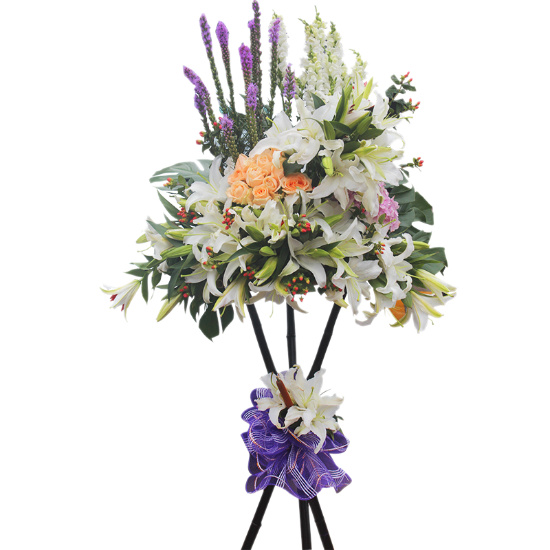 Picture of big bunch of flowers vector free Floral design Flower Purple Lilium - A big bunch of lily flower ... vector free