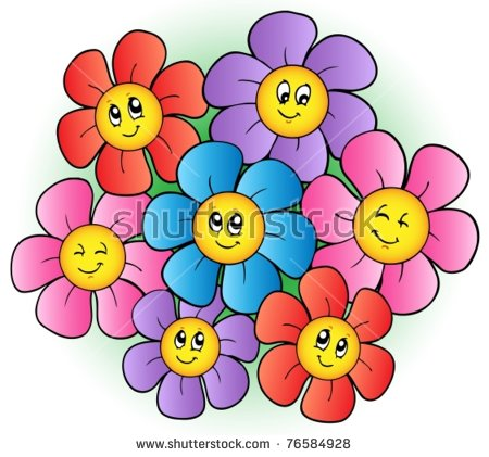 Picture of cartoon flowers library Vector cartoon flower plant free vector download (24,823 Free ... library