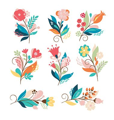 Picture of cartoon flowers vector library 17 Best ideas about Cartoon Flowers on Pinterest | Doodle drawings ... vector library