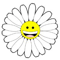 Picture of cartoon flowers svg black and white 17 best ideas about Cartoon Flowers on Pinterest | Doodle drawings ... svg black and white