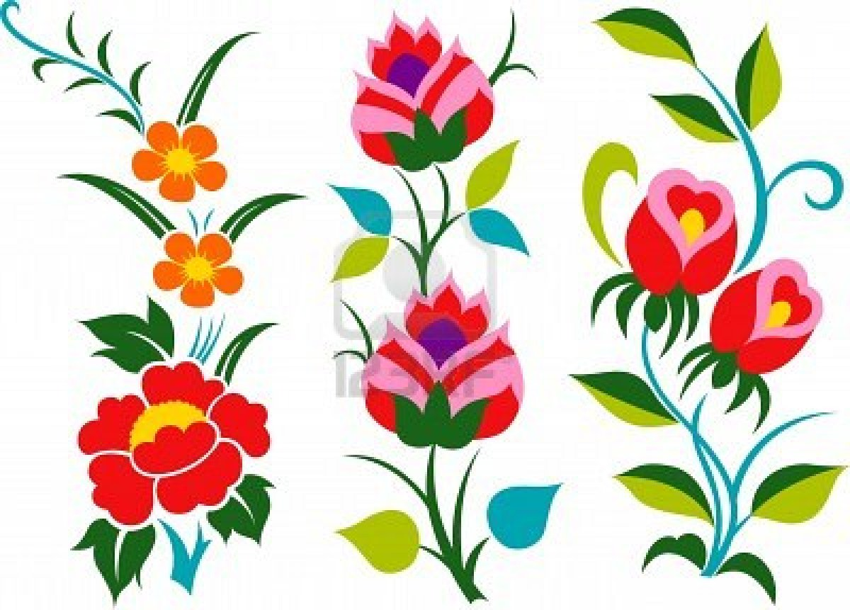 Picture of cartoon flowers banner free Cartoon Butterfly | Cartoon flower with butterfly | Stock Vector ... banner free