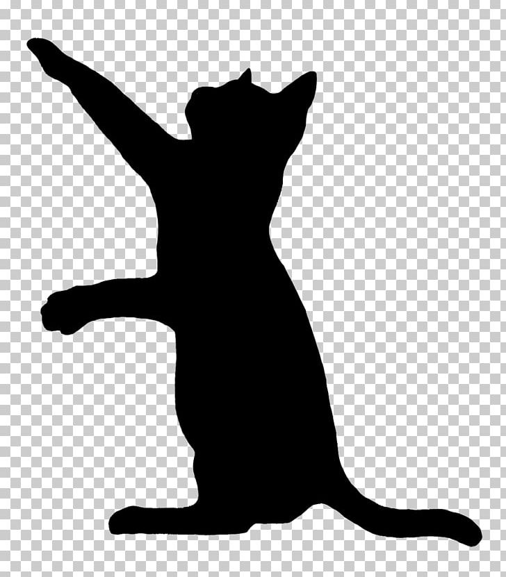 Picture of cat toys clipart black and white clip art black and white Cat Play And Toys Kitten Silhouette PNG, Clipart, Animals ... clip art black and white