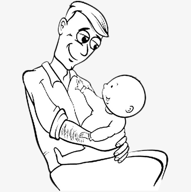 Picture of father clipart black and white vector freeuse stock Dad clipart black and white 5 » Clipart Portal vector freeuse stock