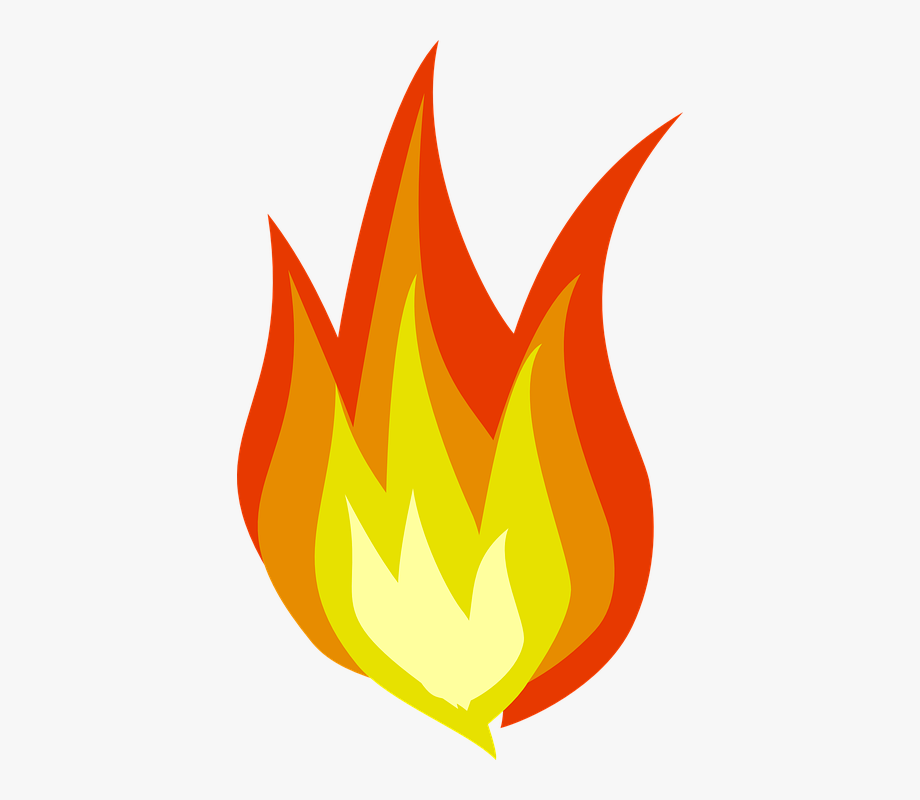 Picture of flames clipart svg black and white stock Fire Flames Clipart - Flame Clipart #493297 - Free Cliparts ... svg black and white stock