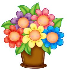 Picture of flowers clipart clip transparent stock Beautiful clip art flowers - ClipartFest clip transparent stock