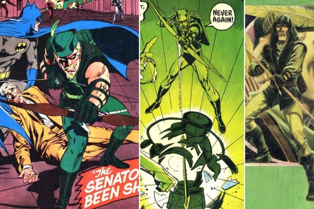 Picture of green arrow svg royalty free library Evolution of Green Arrow: Best Green Arrow Stories by Decade svg royalty free library