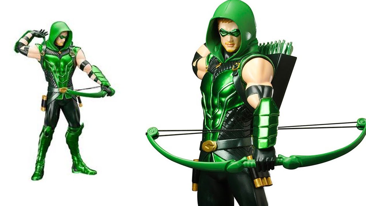 Picture of green arrow free Green Arrow Artfx+ Statue, DC Universe Animated Figures, Infinity ... free