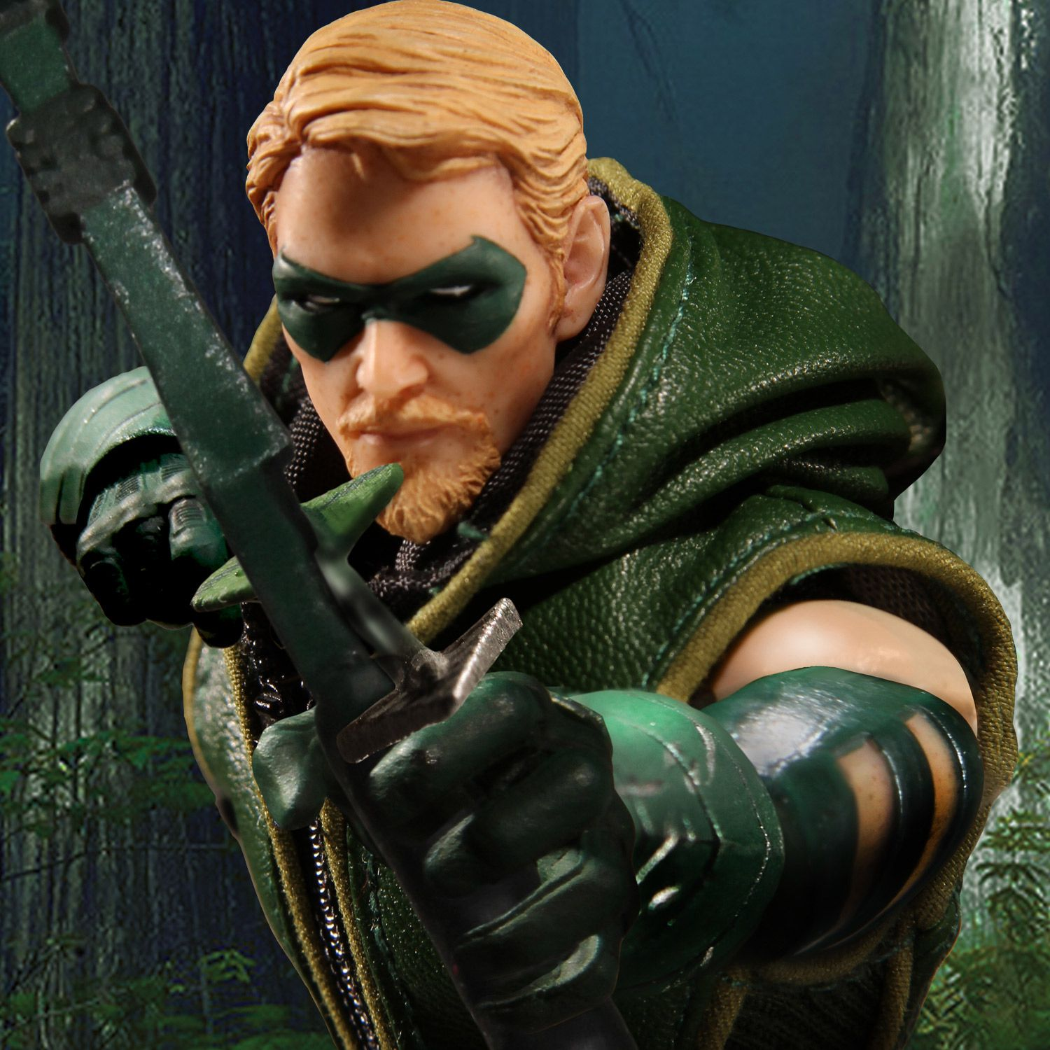 Picture of green arrow svg freeuse stock One:12 Collective DC Comics Green Arrow – Mezco Toyz svg freeuse stock