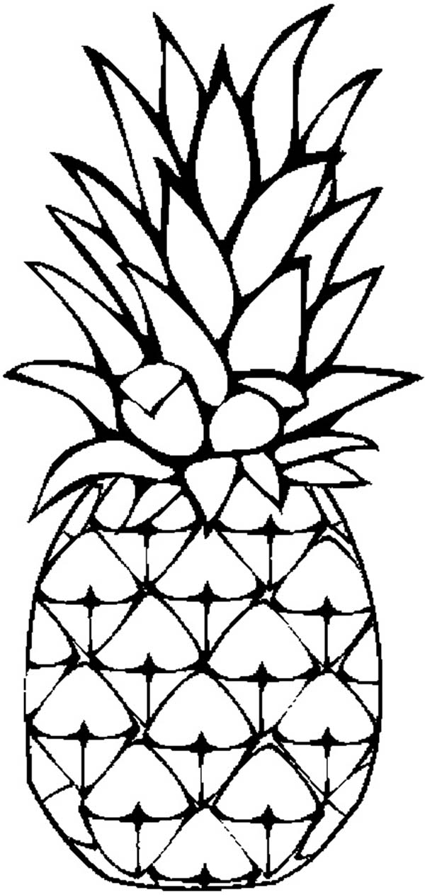 Picture of pineapple clipart black and white clip art library stock Pineapple black and white pineapple clipart black and white ... clip art library stock
