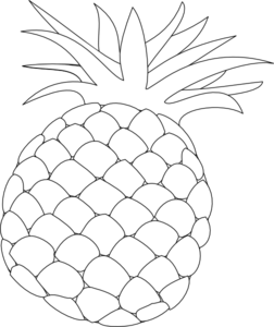 Picture of pineapple clipart black and white png free library Free Pineapple Cliparts, Download Free Clip Art, Free Clip ... png free library