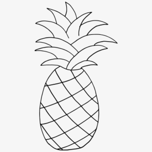 Picture of pineapple clipart black and white svg royalty free library PNG Pineapple Cliparts & Cartoons Free Download - NetClipart svg royalty free library