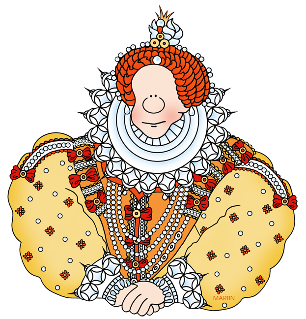 Picture of queen clipart clipart library Explorers Clip Art by Phillip Martin, Queen Elizabeth I clipart library