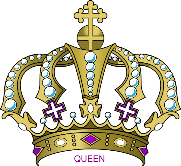 Crown crest clipart png banner freeuse library Queen Crown Clipart - Clipart Kid banner freeuse library