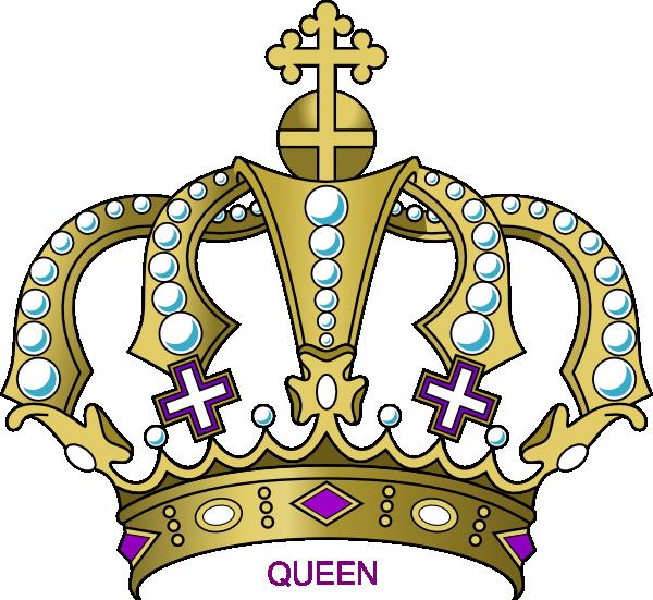 Clipart of queen svg free stock Queen Crown Clipart - Clipart Kid svg free stock