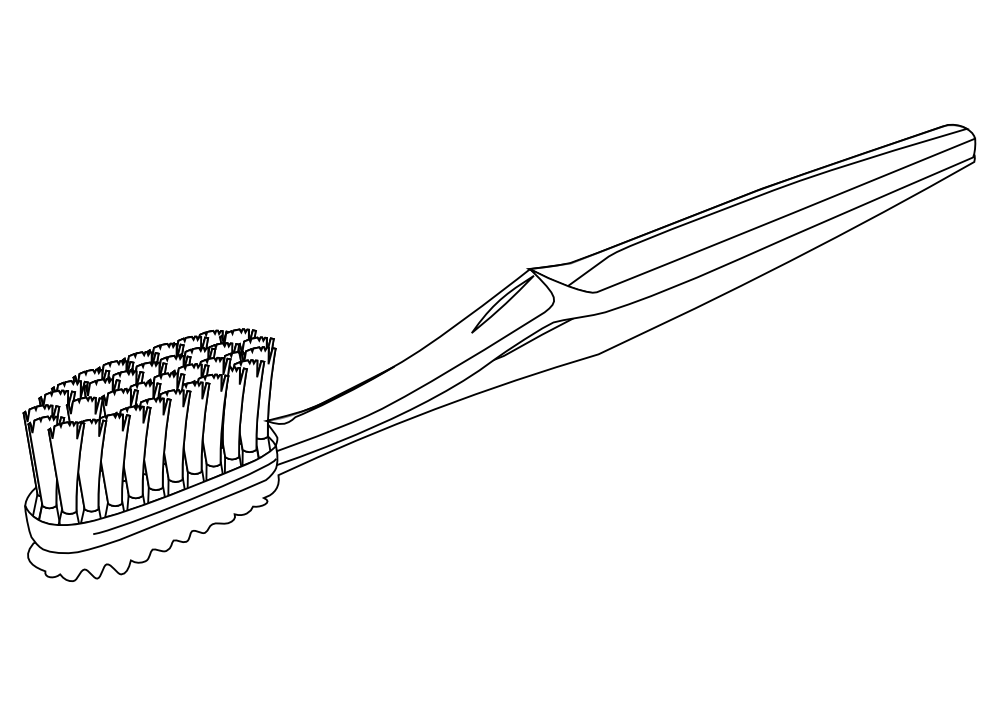 Picture of toothbrush clipart black and white transparent library Free Toothbrush Cliparts, Download Free Clip Art, Free Clip ... transparent library
