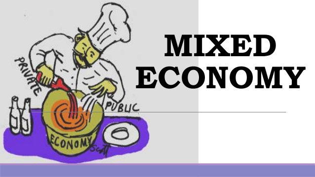 Picture of traditional economy clipart stock Mixed Economy stock