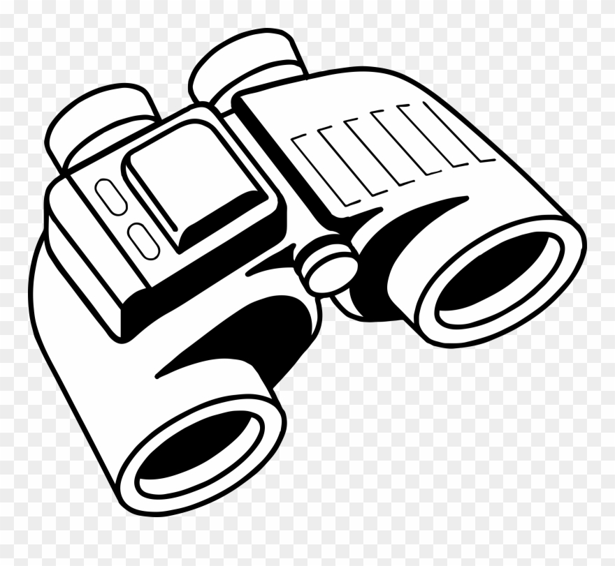 Pictures of binoculars clipart clip black and white download Binoculars Clipart Black And White - Png Download (#151109 ... clip black and white download